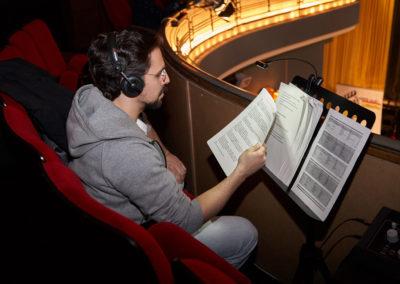 Sprecher Audiodeskription